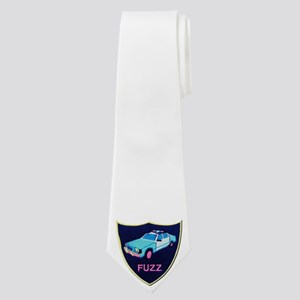 Fuzz The Police Neck Tie