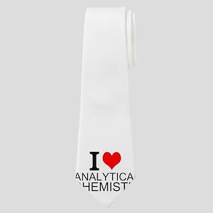 I Love Analytical Chemistry Neck Tie