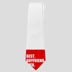 Best Boyfriend Ever in red Neck Tie