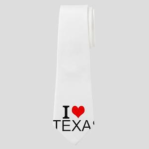 I Love Texas Neck Tie