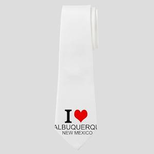 I Love Albuquerque, New Mexico Neck Tie