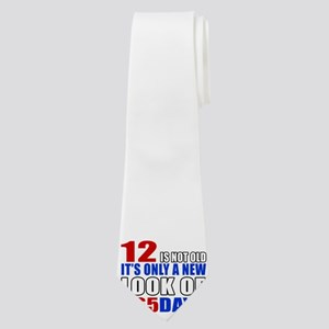 12 is not old it is only a new look Neck Tie