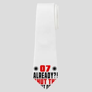 07 Already Shut The Front Door Neck Tie
