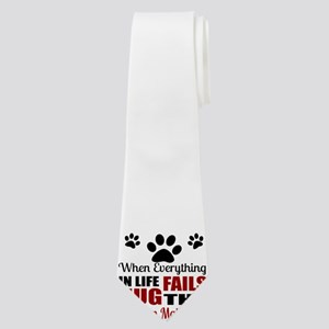 Hug The American Eskimo Neck Tie