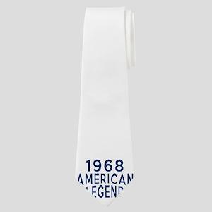 1968 American Legend Birthday Designs Neck Tie