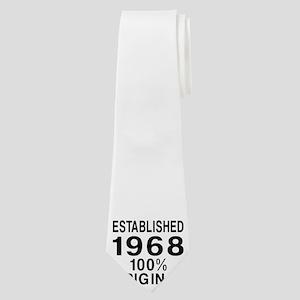 Established 1968 Neck Tie