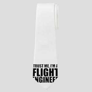 Trust Me, I'm A Flight Engneer Neck Tie
