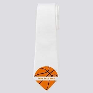 Basketball Personalized Neck Tie