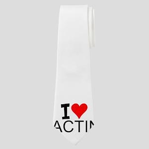 I Love Acting Neck Tie