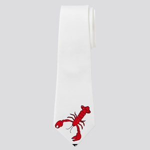 royalty free lobster drawing Neck Tie