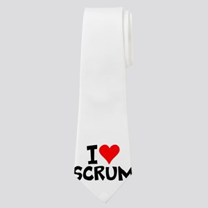 I Love Scrum Neck Tie