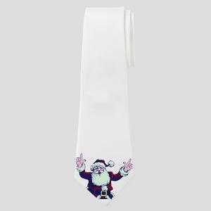 ILY ASL Santa Neck Tie