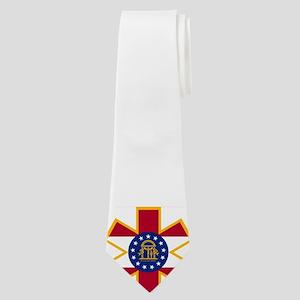Georgia EMS Star Of Life Neck Tie