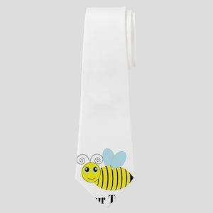 Personalizable Honey Bee Neck Tie
