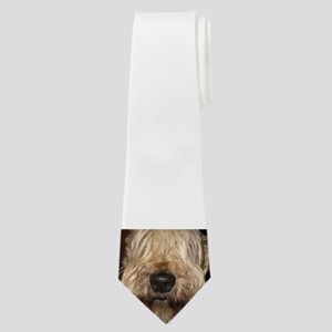 soft coated wheaton terrier Neck Tie