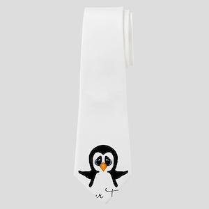 Personalizable Penguin Neck Tie