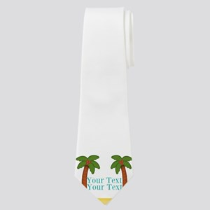 Personalizable Palm Trees Neck Tie