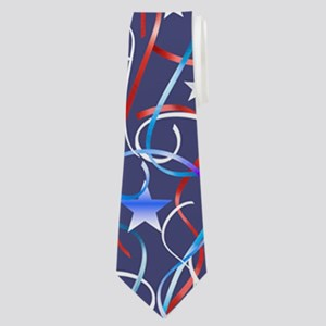 American Streamers Neck Tie