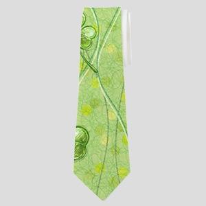 Simple Shamrocks Neck Tie