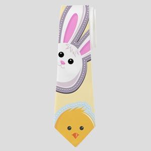 Bunny Business Neck Tie