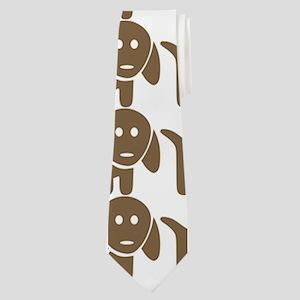 Dachshund Wiener Dog Pattern Neck Tie