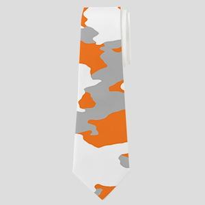 Camouflage: Orange III Neck Tie