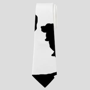 Basset Hounds Neck Tie