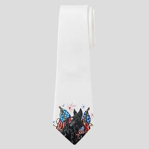 All American Scottie Neck Tie