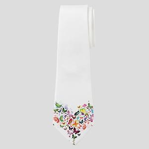 Heart of Butterflies Neck Tie