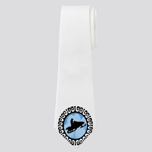 SNOWMOBILE Neck Tie