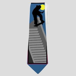 SkateboarderNeckTie Neck Tie