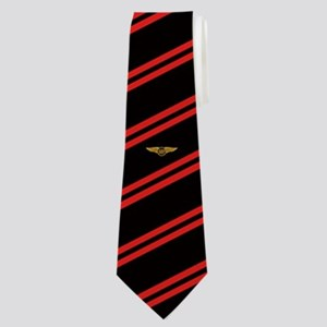 Alpha Eta Rho Wings Striped Neck Tie