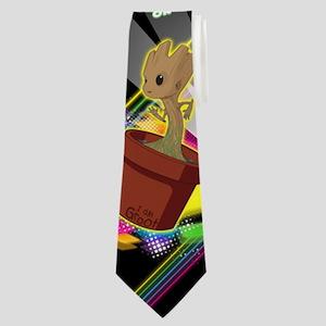 GOTG Get Your Groot On Neck Tie