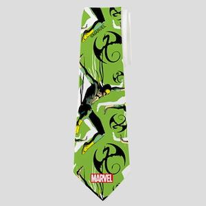 Iron Fist Pattern Neck Tie