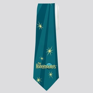 The Honeymooners Full Bleed Logo Design Neck Tie