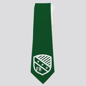 Farmhouse Fraternity Green Crest Neck Tie