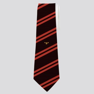 Theta Tau Fraternity Symbol in Yellow wit Neck Tie