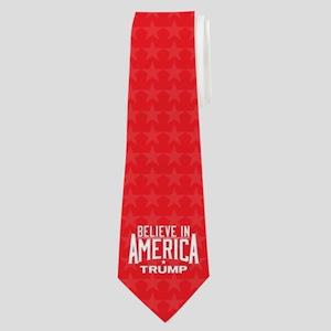 Donald Trump - Believe In America Neck Tie