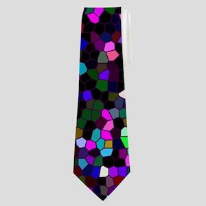 Neck Tie Mosaic Glitter 1