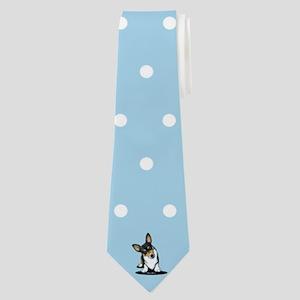 KiniArt Tricolor Corgi Neck Tie