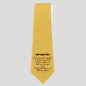 John 6:35 Wheat Neck Tie