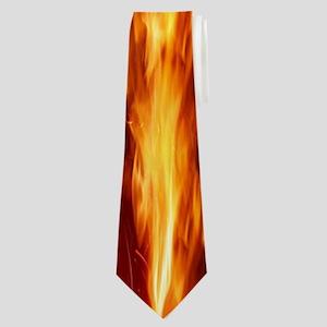 Hot Flames Neck Tie