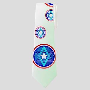 Support Israel Neck Tie