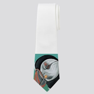Atlantic Puffin Neck Tie