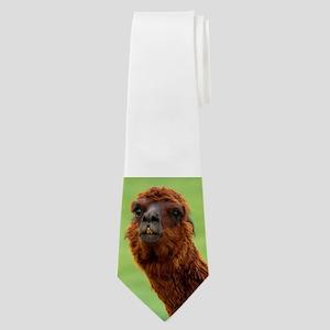 Funny Llama Neck Tie