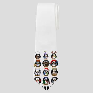 Penguins Neck Tie