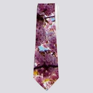 Rose Spring Blossoms Neck Tie