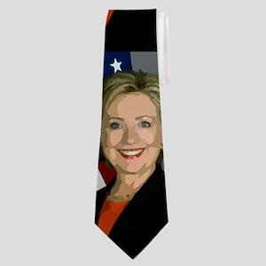 hillary clinton Neck Tie