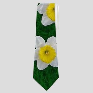 Spring Daffodils Neck Tie
