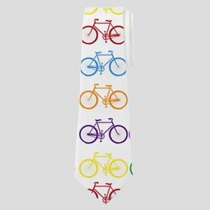 bicycles Neck Tie